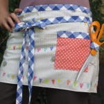 Quickie Sewing Apron