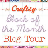Craftsy Block of the Month Blog Tour