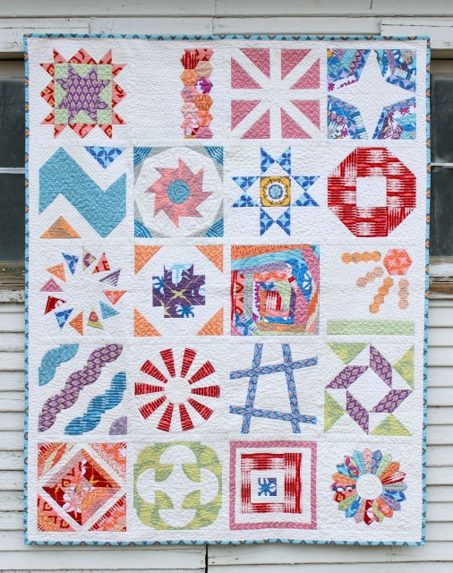 2012 Craftsy BOM Sampler:  Details HERE, Free class HERE