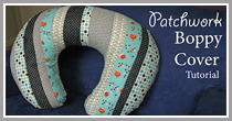 Patchwork Boppy Cover Tutorial
