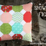 Snowball Fight Pillow Tutorial