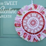 Kids Craft Idea: Valentine Wreath