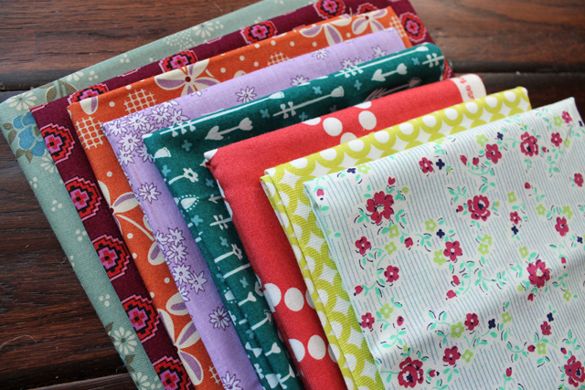 Fabric for Patchwork Pillows