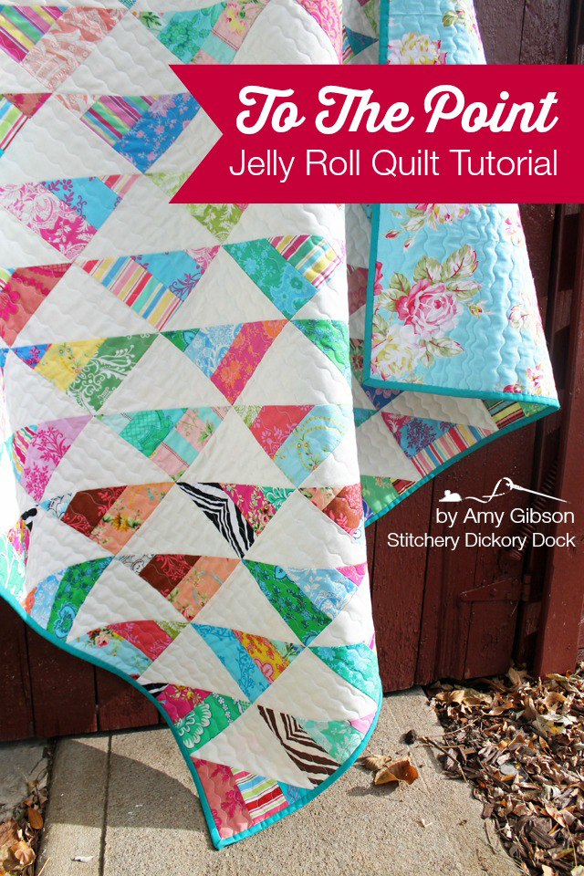 To The Point A Quick N Easy Jelly Quilt Tutorial