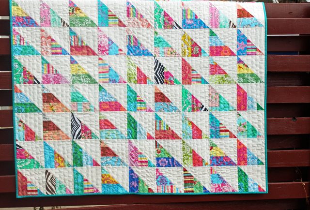 To The Point A Quick n' Easy Jelly Quilt Tutorial Simple Quilt Patterns Using Jelly Rolls