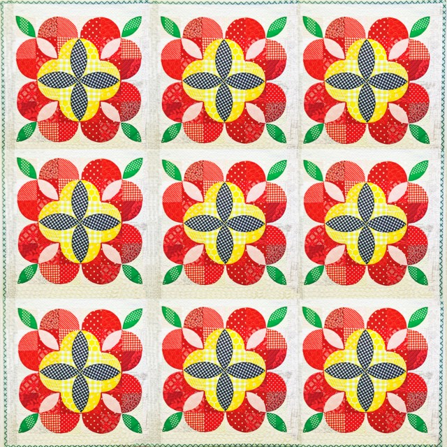 Apple  Blossom Full Quilt Photo Edited