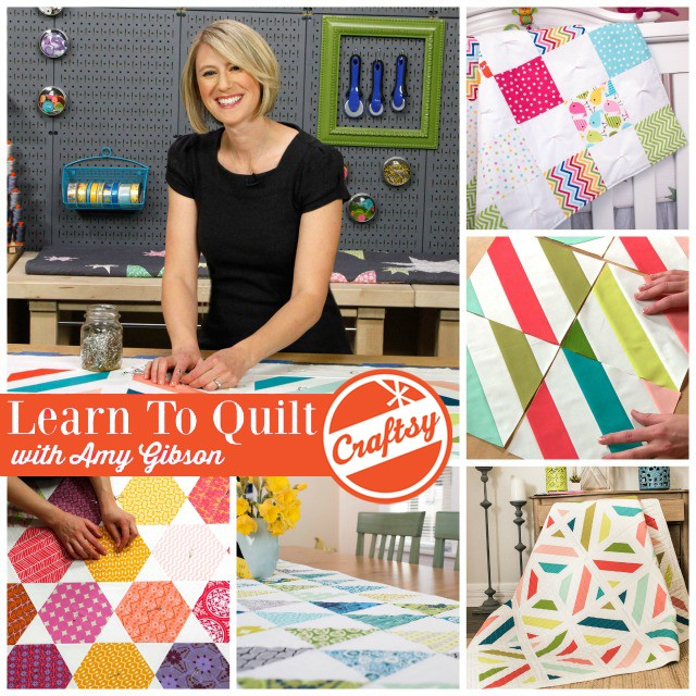 Learn To Quilt Series Collage