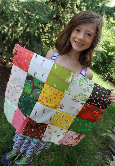Learning to Quilt 01