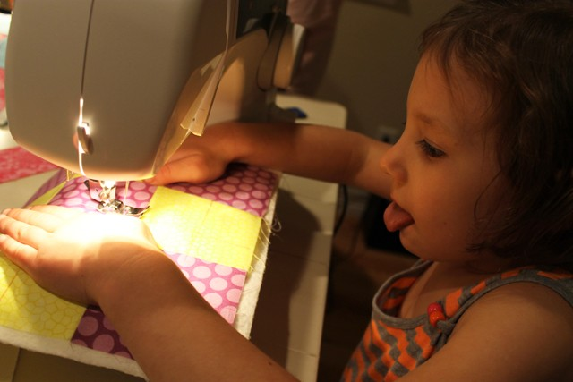 Learning to Quilt 02