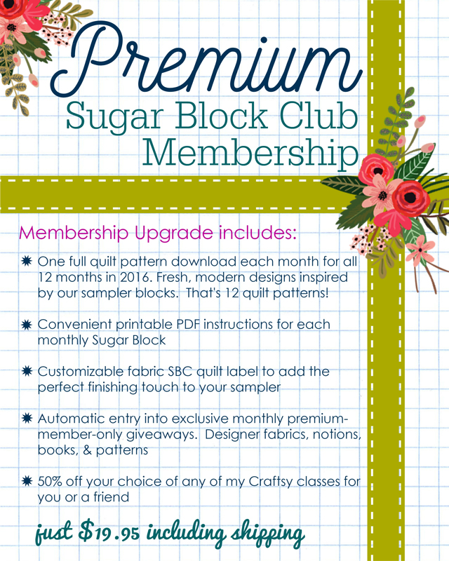 Premium Membership Flyer with Flowers