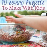 10 Sewing Projects to Make with Kids