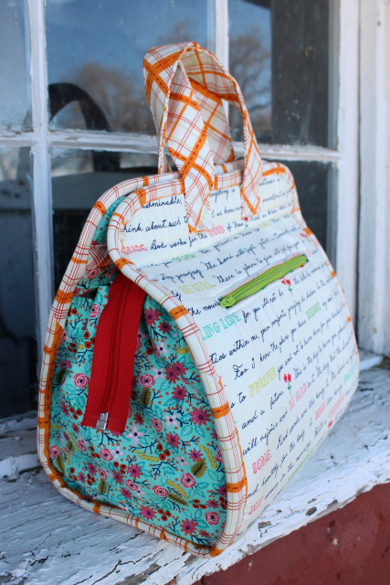 Maker Tote pattern by Anna Graham, Noodlehead