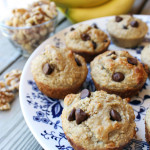 Can't Get Enough Of…Banana Nut Oatmeal Muffins